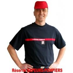 T-SHIRT SAPEURS-POMPIERS F1