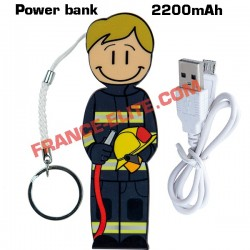 POWER BANK POMPIER