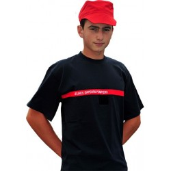 T-SHIRT JEUNES SAPEURS-POMPIERS