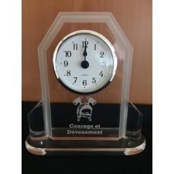 Horloge COURAGE ET DEVOUEMENT