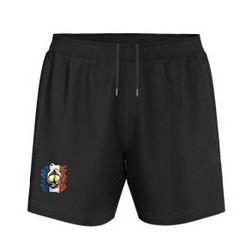 SHORT DE SPORT FLOQUE