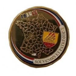 Médaillon Sapeur Pompier SDIS 66 Coffret
