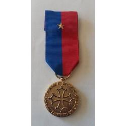 médaille SAPEURS POMPIERS de l'Aude