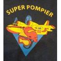 T-SHIRT ENFANT SUPER POMPIER CANADAIR