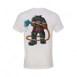 T-Shirt enfant Comme un Pompier floqué dos