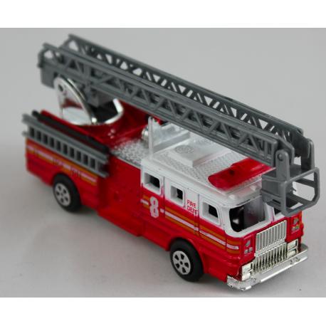 Camion de pompier taille crayon