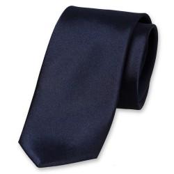 Cravate bleue marine