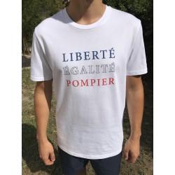 T-Shirt SP LIBERTE EGALITE POMPIER