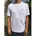 T-SHIRT SP BLANC CASQUE F1