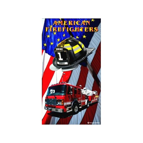 DRAP DE BAIN FIRE FIGHTERS