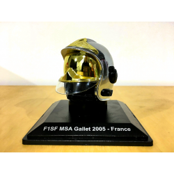 CASQUE POMPIER - F1SF MSA GALLET 2005 FRANCE