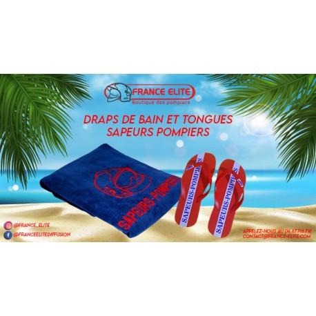 DRAP DE PLAGE AVEC TONGUES
