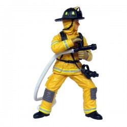 POMPIER FIRE FIGHTER A LA LANCE