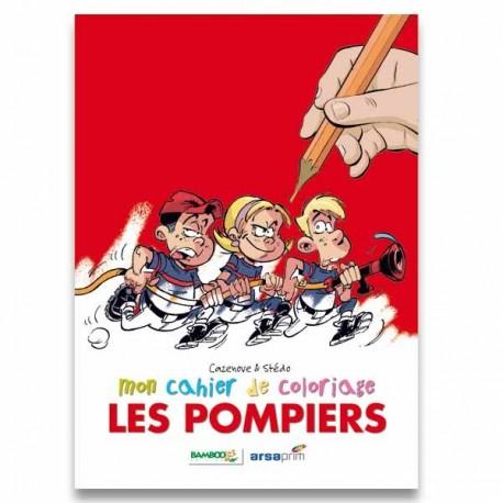 """CAHIER DE COLORIAGE """"LES POMPIERS"""""""