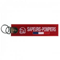 PORTE CLES FLAMETTE SAPEURS-POMPIERS