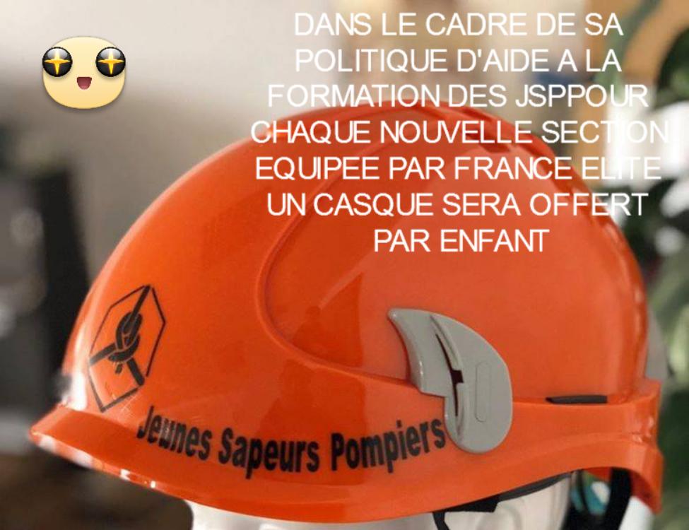 Jeunes sapeur pompiers