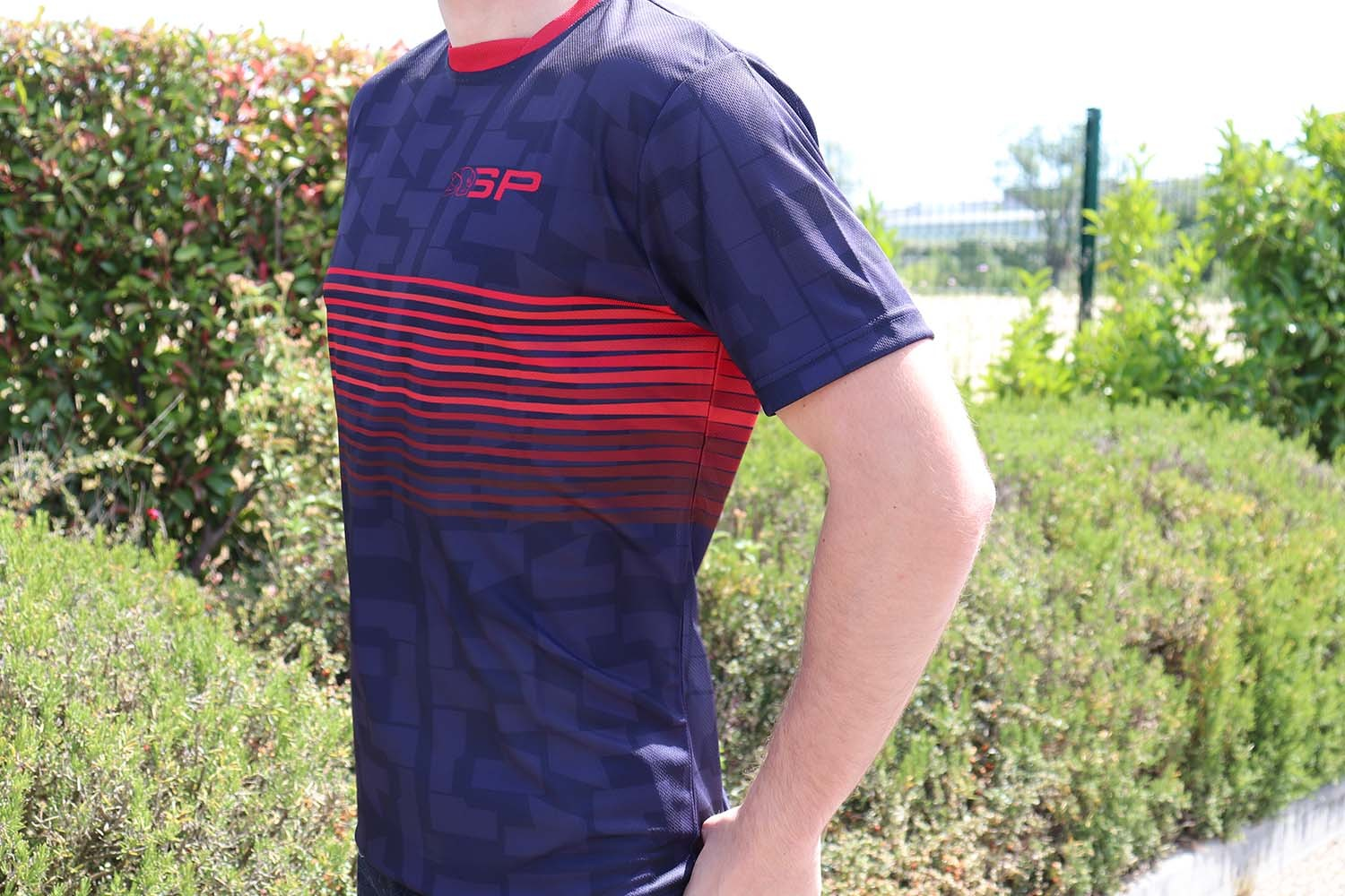 T-Shirt SPORT ROUGE FLUO